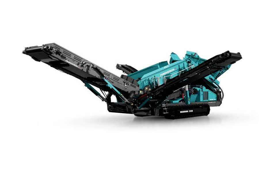 L'eccellenza della tecnologia per la separazione degli inerti: Warrior 2100 Spaleck