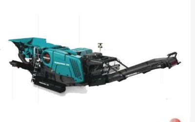 Premiertrak 330, l'ultimo nato in casa Powerscreen