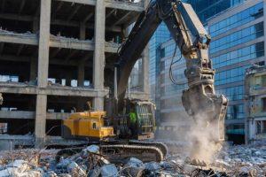 demolizione edifici controllata selettiva